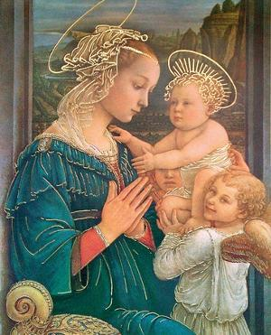 La Vergine Col Figlio by Fra Filippo Lippi
