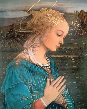 La Vergine in Adorazione by Fra Filippo Lippi