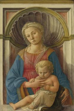 Madonna and Child, c.1440 by Fra Filippo Lippi