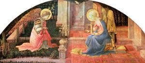 The Annunciation, circa 1450-3 by Fra Filippo Lippi