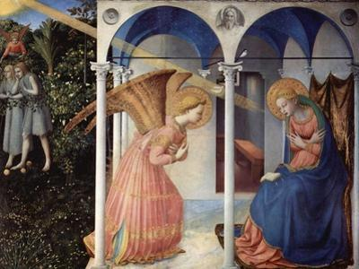 The Annunciation, 1430-1432 by Fra Giovanni Angelico da Fiesole