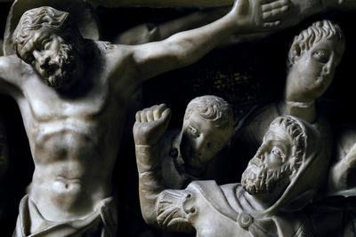 Crucifixion, Detail from Pulpit