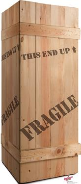 Fragile Leg Lamp Crate - A Christmas Story Lifesize Cardboard Cutout