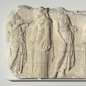 Fragment de la frise est du Parthénon. Vers 445-438 av J.-C.