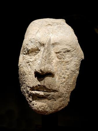 Fragment of a Male Face