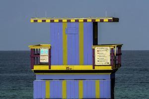 Beach Hut, Miami Beach, USA by Fran?oise Gaujour