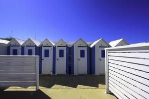 Beach Huts in Polignano-A-Mare, Puglia, Italy by Fran?oise Gaujour