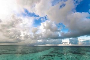 Sunrise in Filiteyo, Maldives by Fran?oise Gaujour