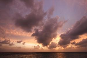 Sunset in Filiteyo, Maldives by Fran?oise Gaujour
