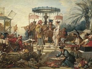 France, Chinoiseries, the Chinese Wedding