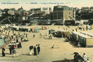 France, Dinard Beach 1905