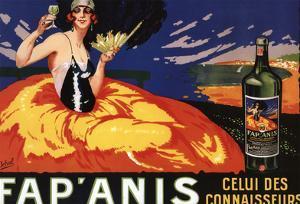 France - Fap'Anis Celui Des Connaisseurs Advertisement Poster