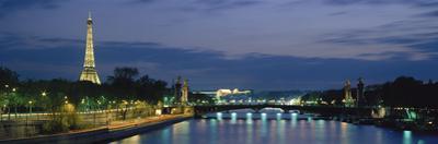 France, Paris, Eiffel Tower , Seine River