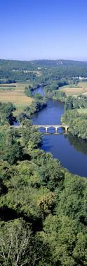 France River Dordogne and Bridge