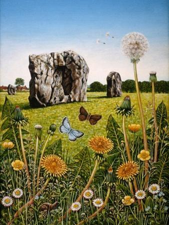 Avebury, 1983 by Frances Broomfield