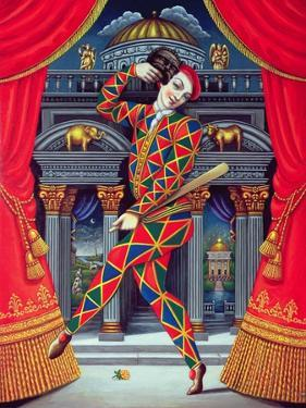 Harlequin at the Gates of Horn and Ivory, 2007 by Frances Broomfield