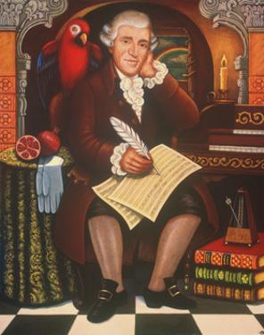 Haydn's Creation, 2006 by Frances Broomfield