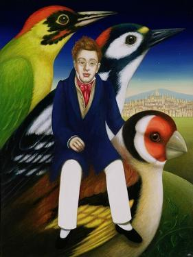 Schubert and the Language of Birds, 2000 by Frances Broomfield