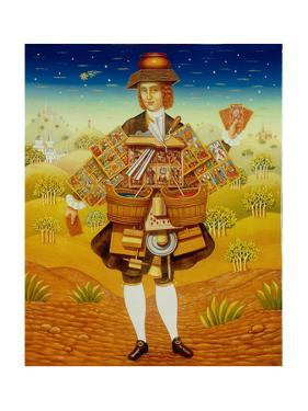 The Card Seller, 2003 by Frances Broomfield