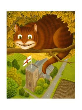 The Cheshire Cat at Daresbury by Frances Broomfield