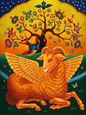 The Ram with the Golden Fleece, 2011 by Frances Broomfield