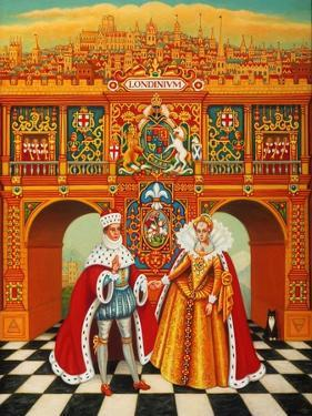 The Winter King and Queen, 2010 by Frances Broomfield