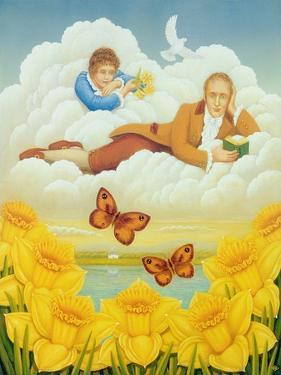 Wordsworth's Daffodils, 2004 by Frances Broomfield