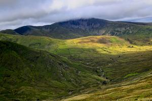 Mt. Snowdon, Wales' Highest Mountain, Is Often Cloaked in Mist by Frances Gallogly