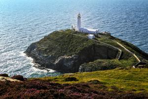 South Stack Lighthouse on the Welsh Island of Anglesey by Frances Gallogly