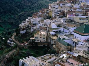 Exterior of Mausoleum and Other Buildings, Moulay Idriss, Morocco by Frances Linzee Gordon