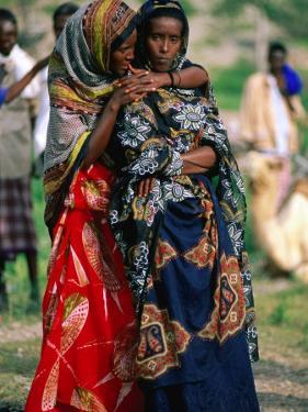 Somalian Women, Who Have Fled Their Homeland, at Wedding, Hol Hol, Djibouti by Frances Linzee Gordon
