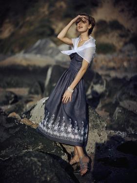 Glamour - January 1949 by Frances Mclaughlin-Gill