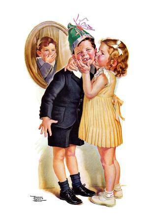 """Birthday Kiss,""March 5, 1938"