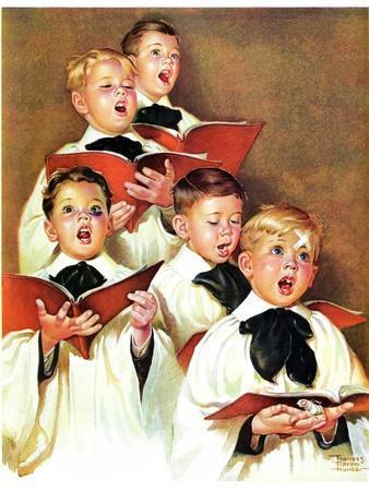 """""""Choir Boys Will Be Boys,""""December 10, 1938"""