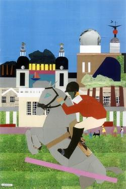 Olympic Equestrian Event in Greenwich Park, 2012 by Frances Treanor
