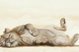 Lion roll, 2012, by Francesca Sanders