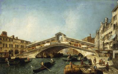 Venice, the Rialto Bridge from the South
