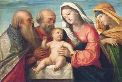 The Circumcision of Jesus by Francesco Bissolo