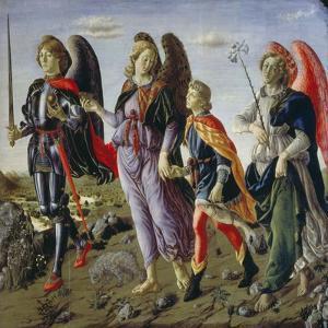 Tobias and the Three Angels by Francesco Botticini