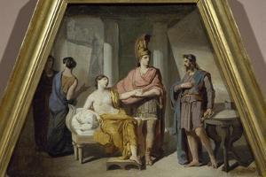 Alexander Ceding His Mistress Campaspe to Apelles by Francesco Coghetti