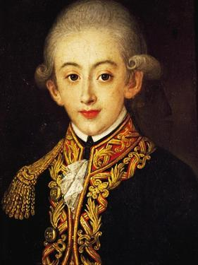 Portrait of Francis I of the Two Sicilies by Francesco Coghetti