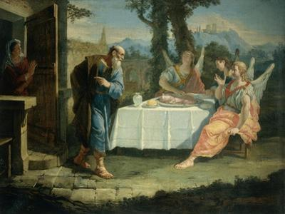 Abraham Receives Announcement of Birth of Isaac