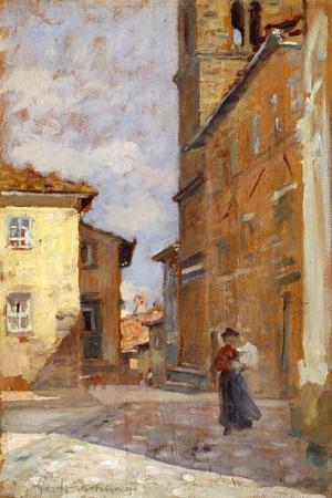 On Street in Volterra