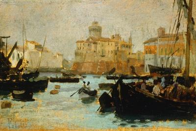 Port in Livorno