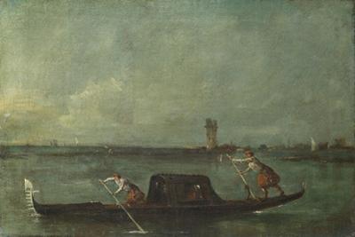A Gondola on the Lagoon Near Mestre, after 1780