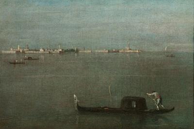 Gondolas on the Lagoon (Grey Lagoo), 1765