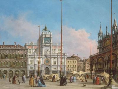 Piazza Di San Marco Looking Towards the Clock Tower