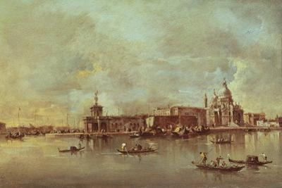 Santa Maria Della Salute Seen from the Mouth of the Grand Canal, Venice