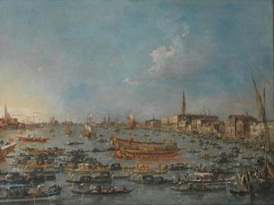 The Bucintoro Festival of Venice, Mid of the 18th C
