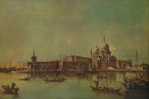 'The Dogana and Salute, Venice', c1775, (1938) by Francesco Guardi